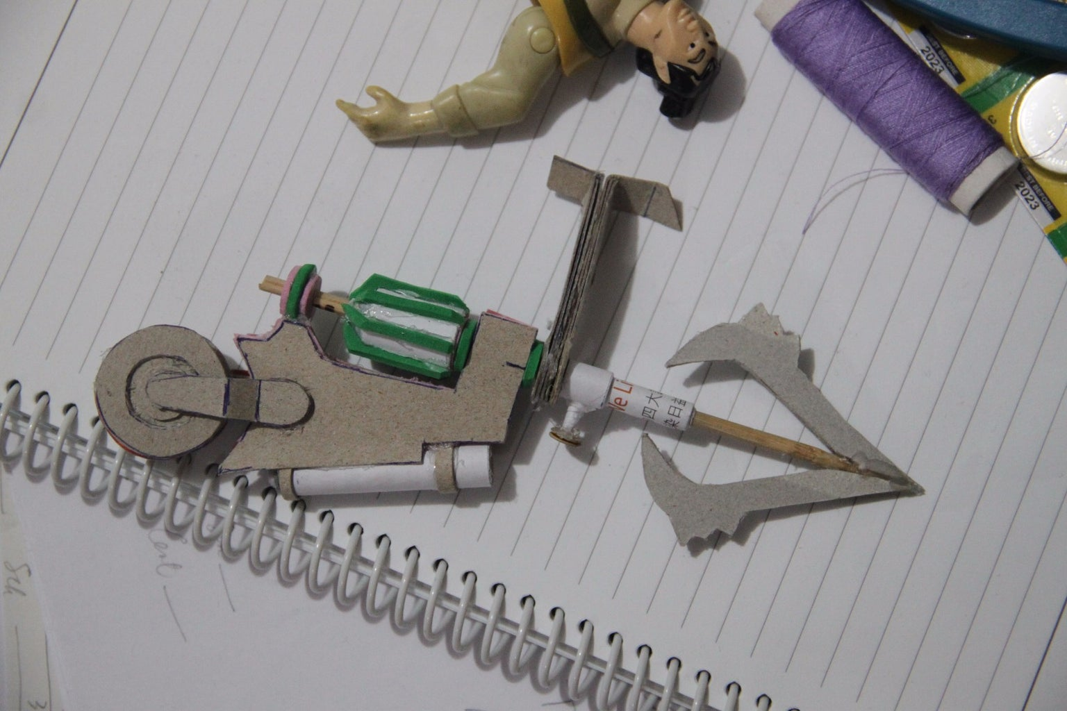 Build the Grappling Hook