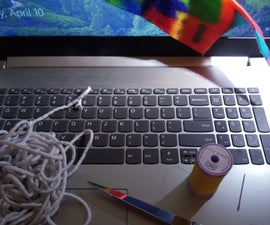 Serious Sewist Fabric Webcam Cover