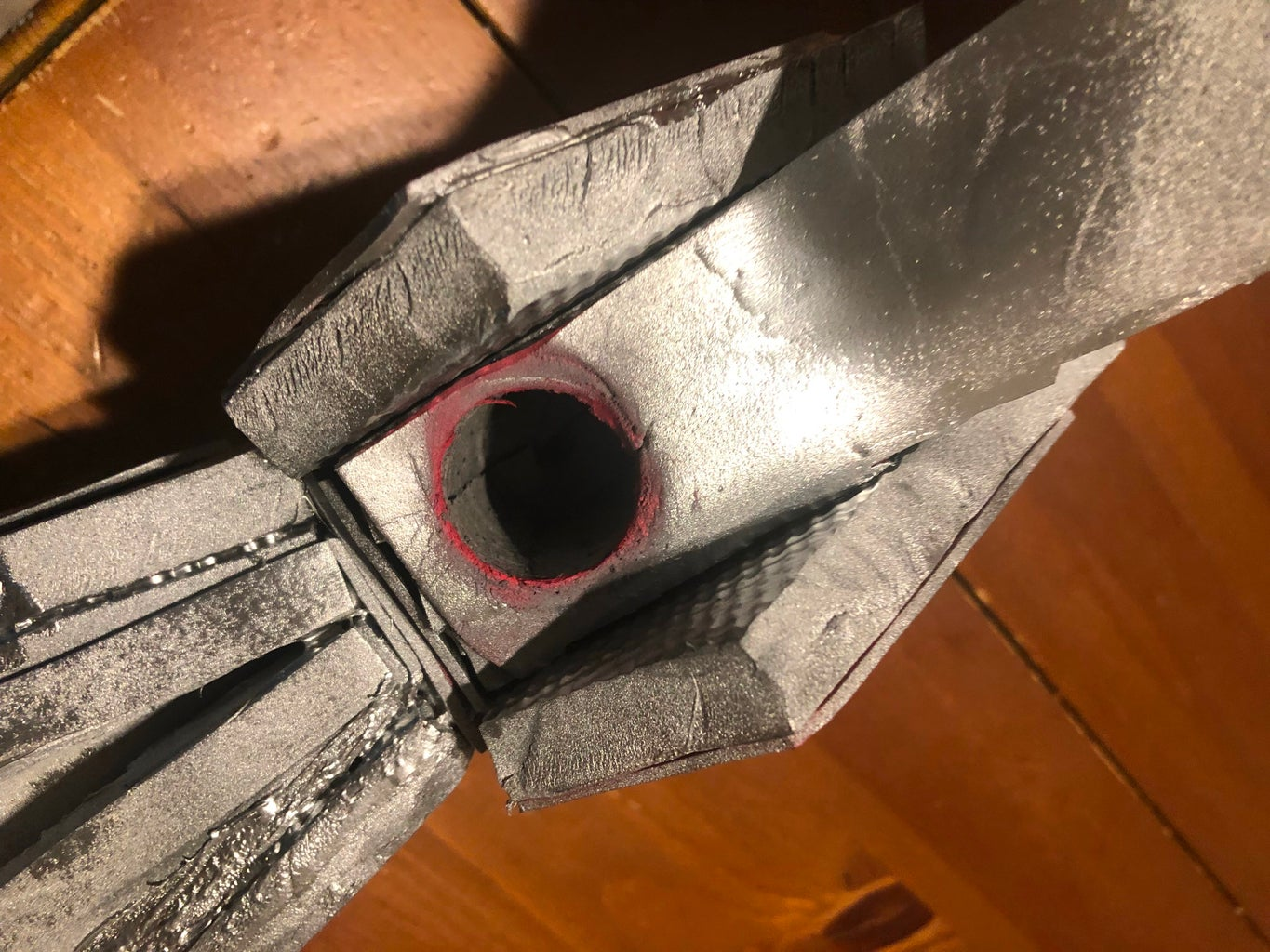 Spray Painting and Drilling a Hole
