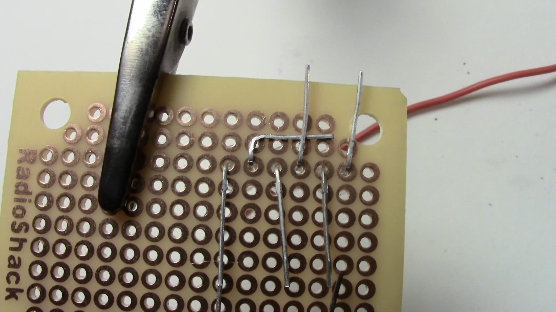 Soldering the First Set