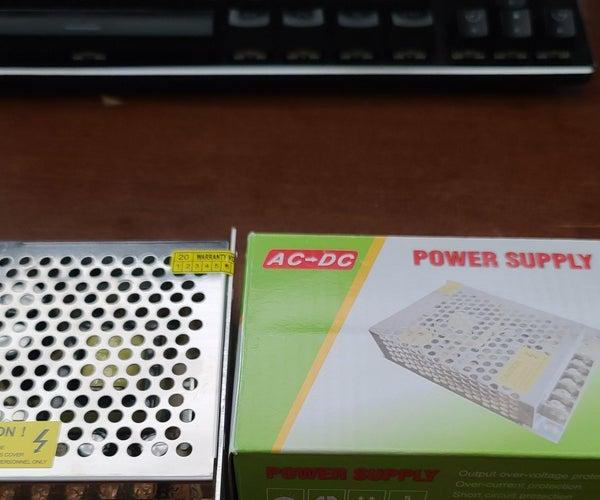 Mod Internal Powersupply Into Mikrotik CSS326-24G-2S+RM Switch.