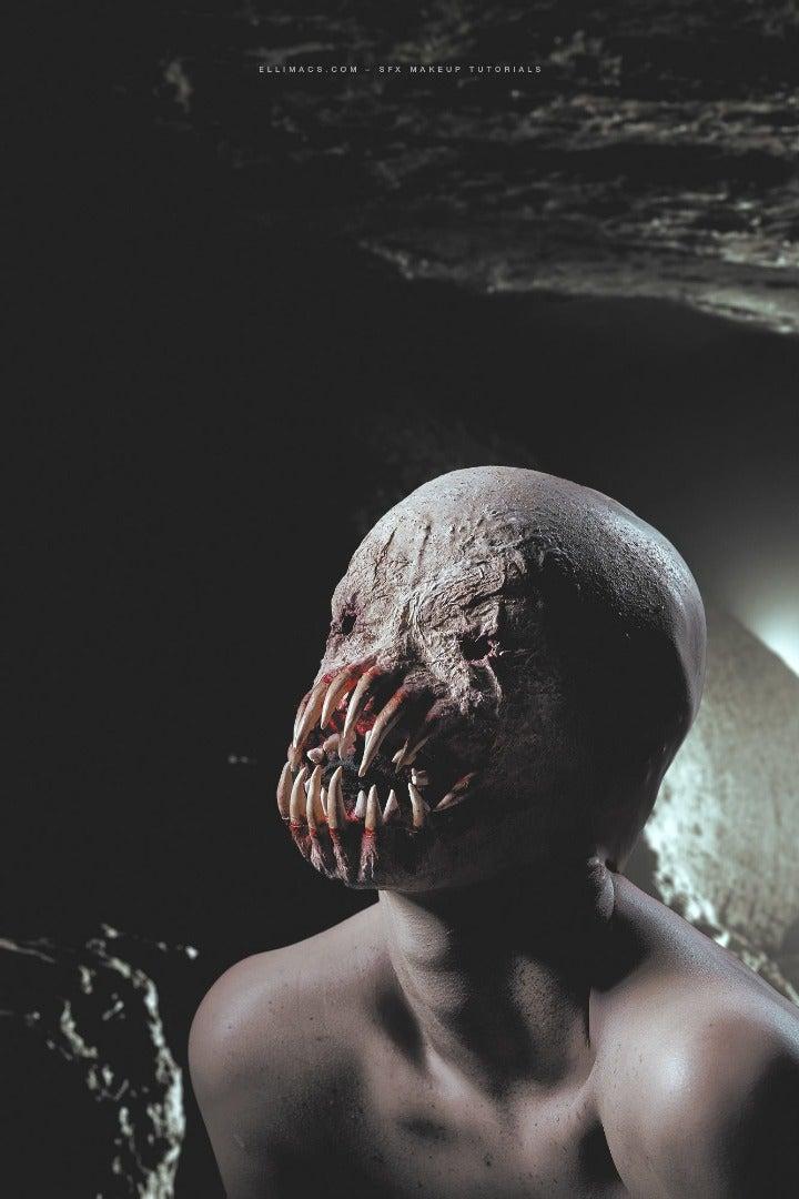 Alien Monster - SFX Makeup Tutorial
