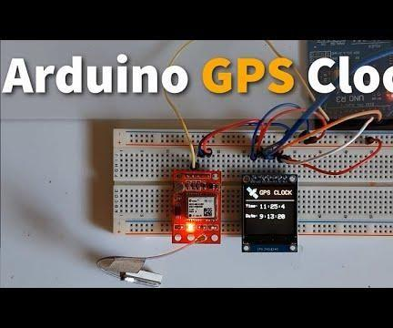 Arduino GPS Clock With Local Time Using NEO-6M Module