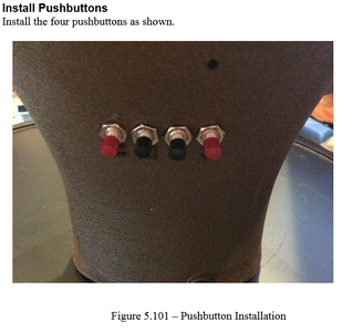 Construction - Install Pushbuttons