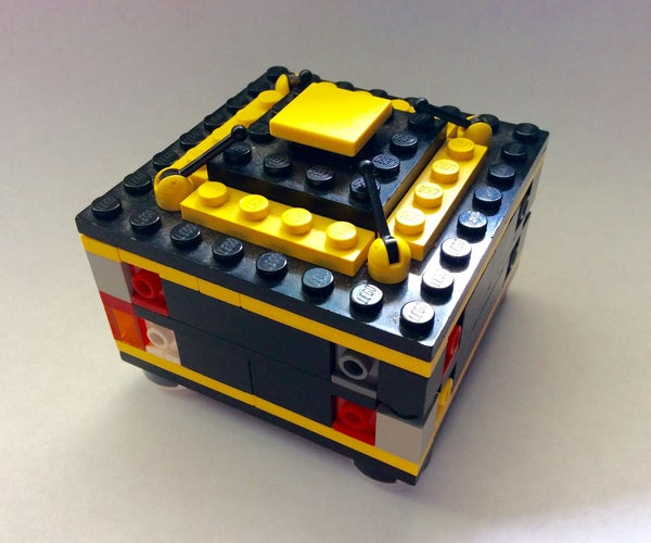 How to Make Lego Puzzle Box No. 4 'Yellow'!