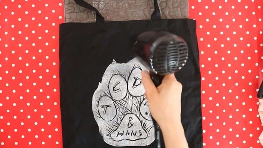Linocut Printing on T-shirts for YouTube Merch