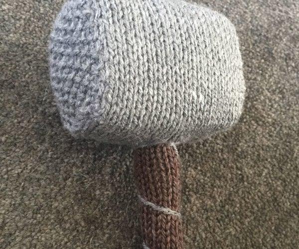 How to Knit Mjölnir - Hammer of Thor