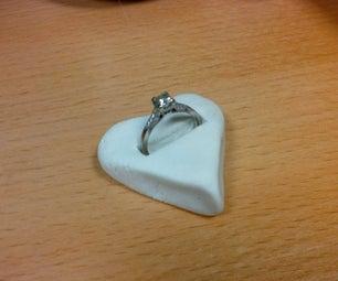 Heart Shaped Ring Holder