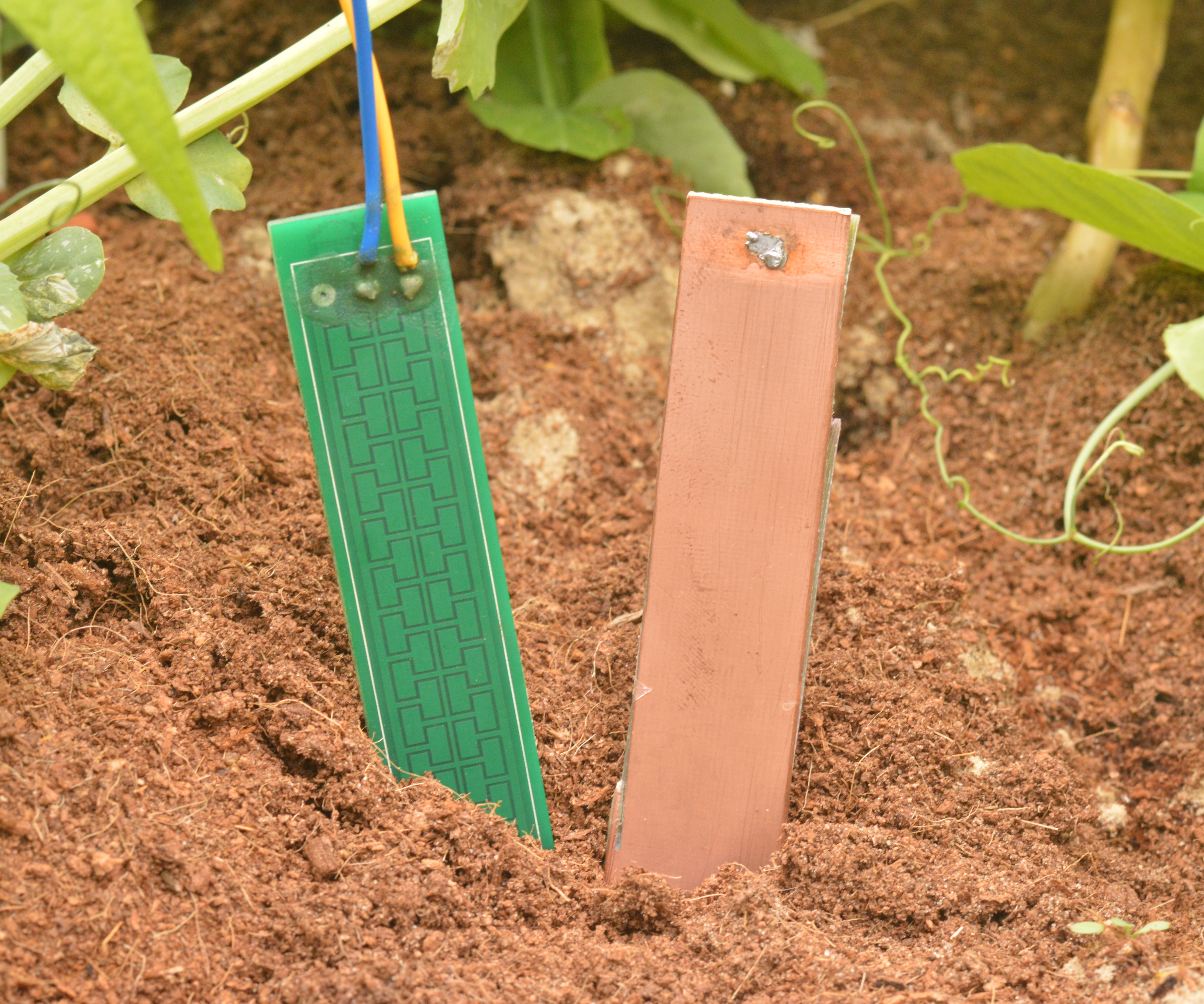 Comparison of capacitive soil probes
