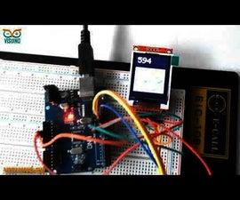 Visuino How to Use LCD TFT ST7735