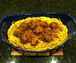 Grandma's Spaghetti & Meatballs