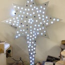 How to Quickly Create a Lighted Christmas Star