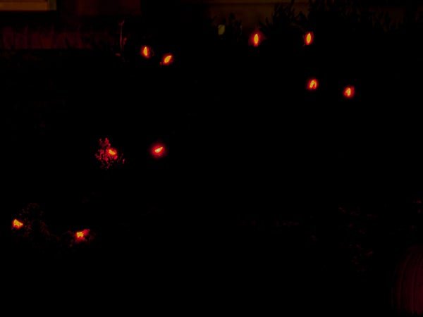 Super Spooky Evil LED Eyes of Doom Using AtTiny85 and Arduino IDE