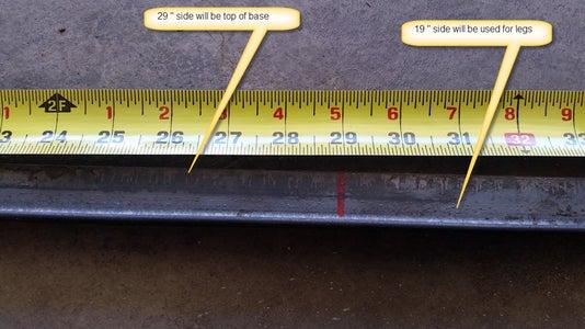 Cut Angle Iron