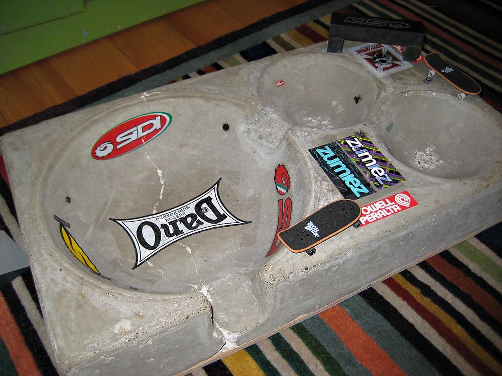 Concrete Fingerboard Skate Park