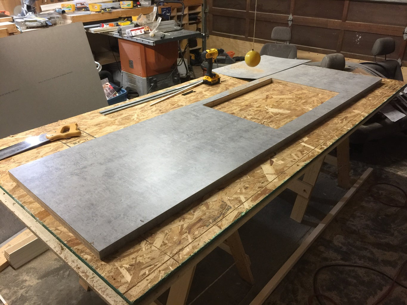 Cut Out Holes and Trim