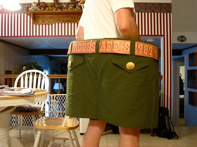 Add Pockets and Belt Loops