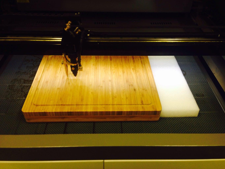Setup Laser and Cut Design