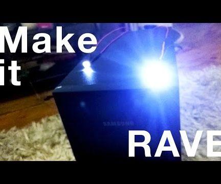 Make your subwoofer Rave!