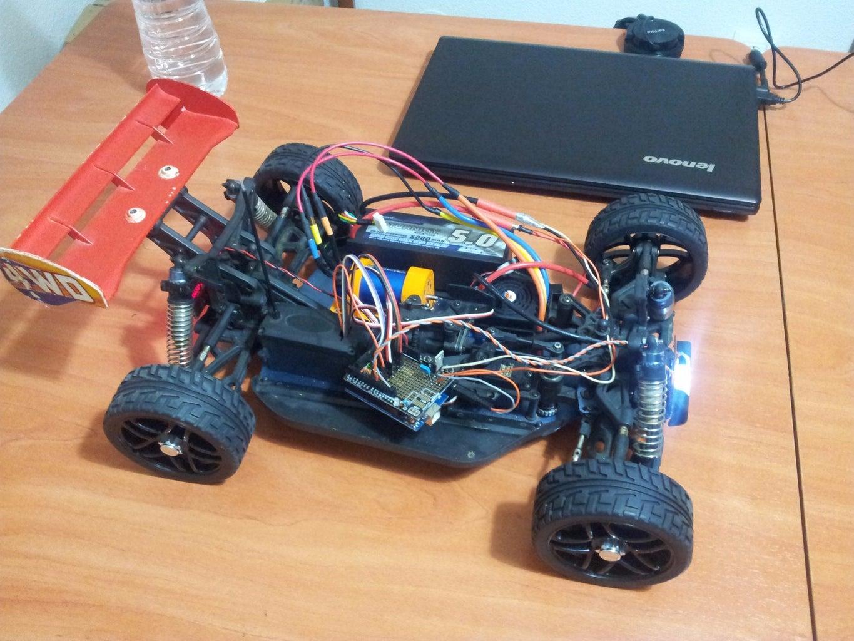 Transforming Nitro RC Car Into Electric