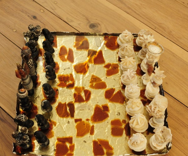 Chess Set Made From the Sea
