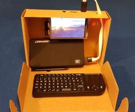 DIY Raspberry Pi Laptop
