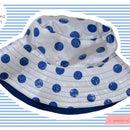 Sewn: Polka Dot Rain Hat (inspired by Cath Kidston)