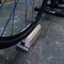 Home Trainer front wheel block