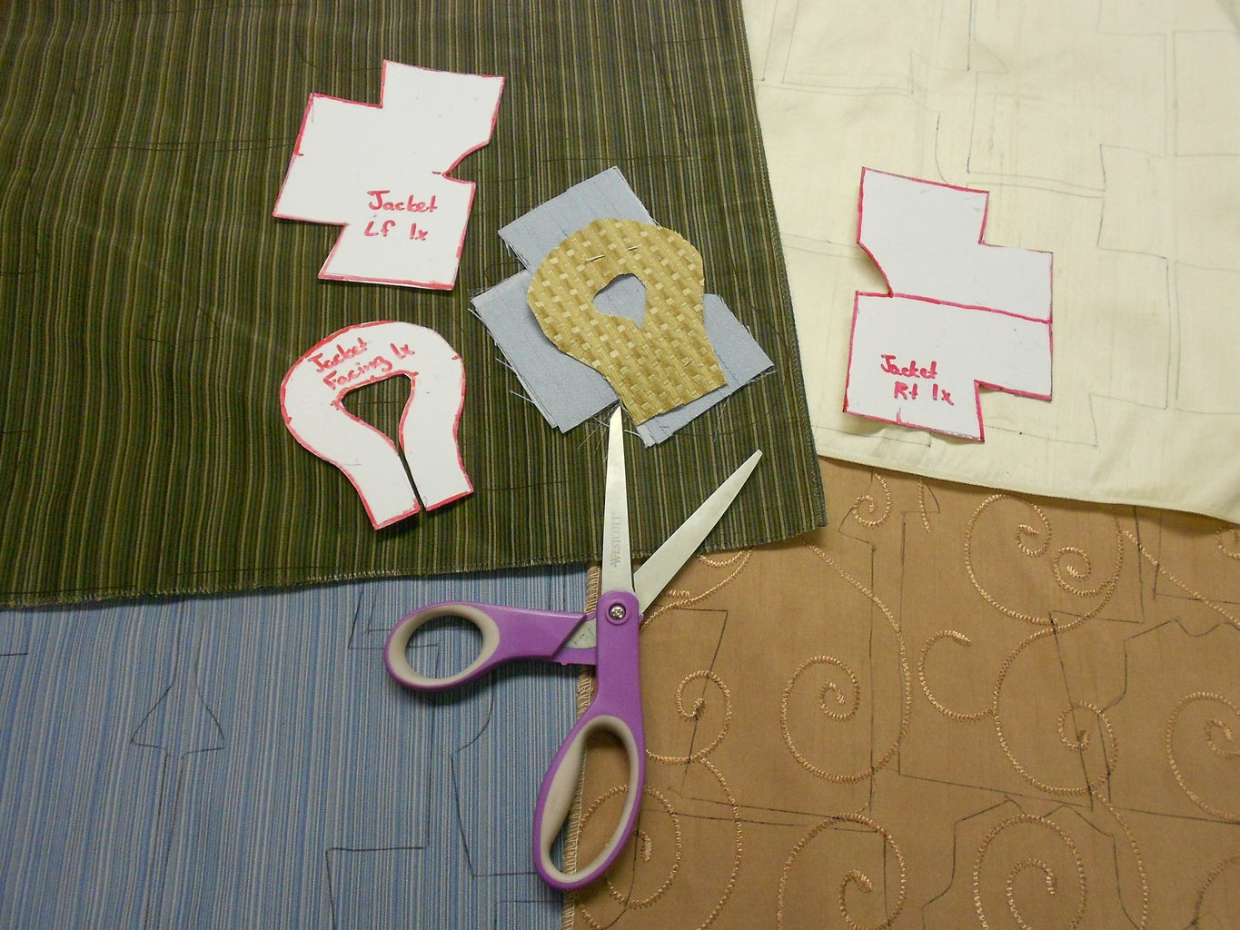 Cut Out Your Fabric Pieces