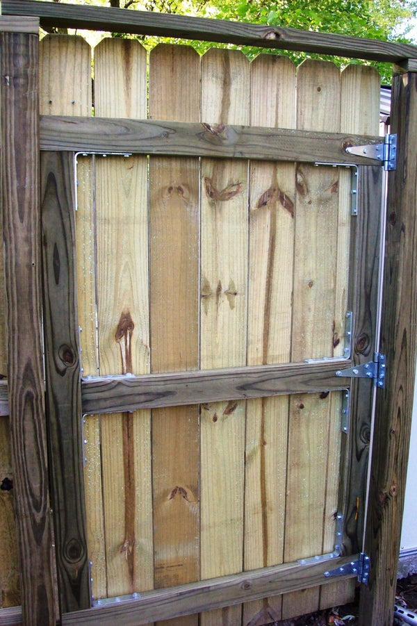 Building a Fence Gate
