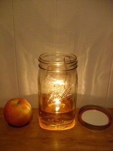 Making a Paper Wick Oil Lamp