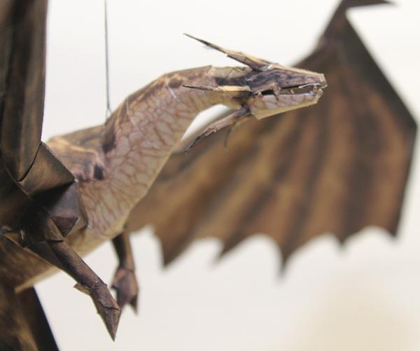 Drakan - Brown Dragon