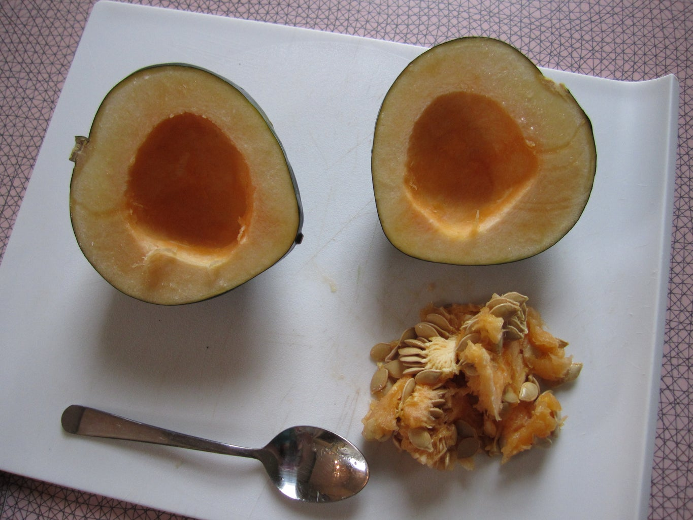 Cut Up You Squash & Preheat the Oven