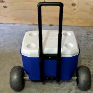 Big Wheel Beach Cooler