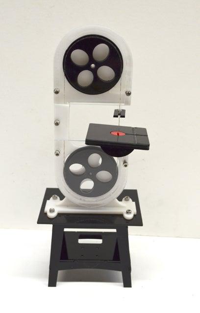 How to Make a Mini Laser Cut Band Saw