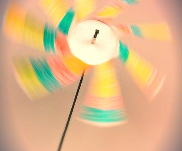 Cup Windmill 纸杯风车