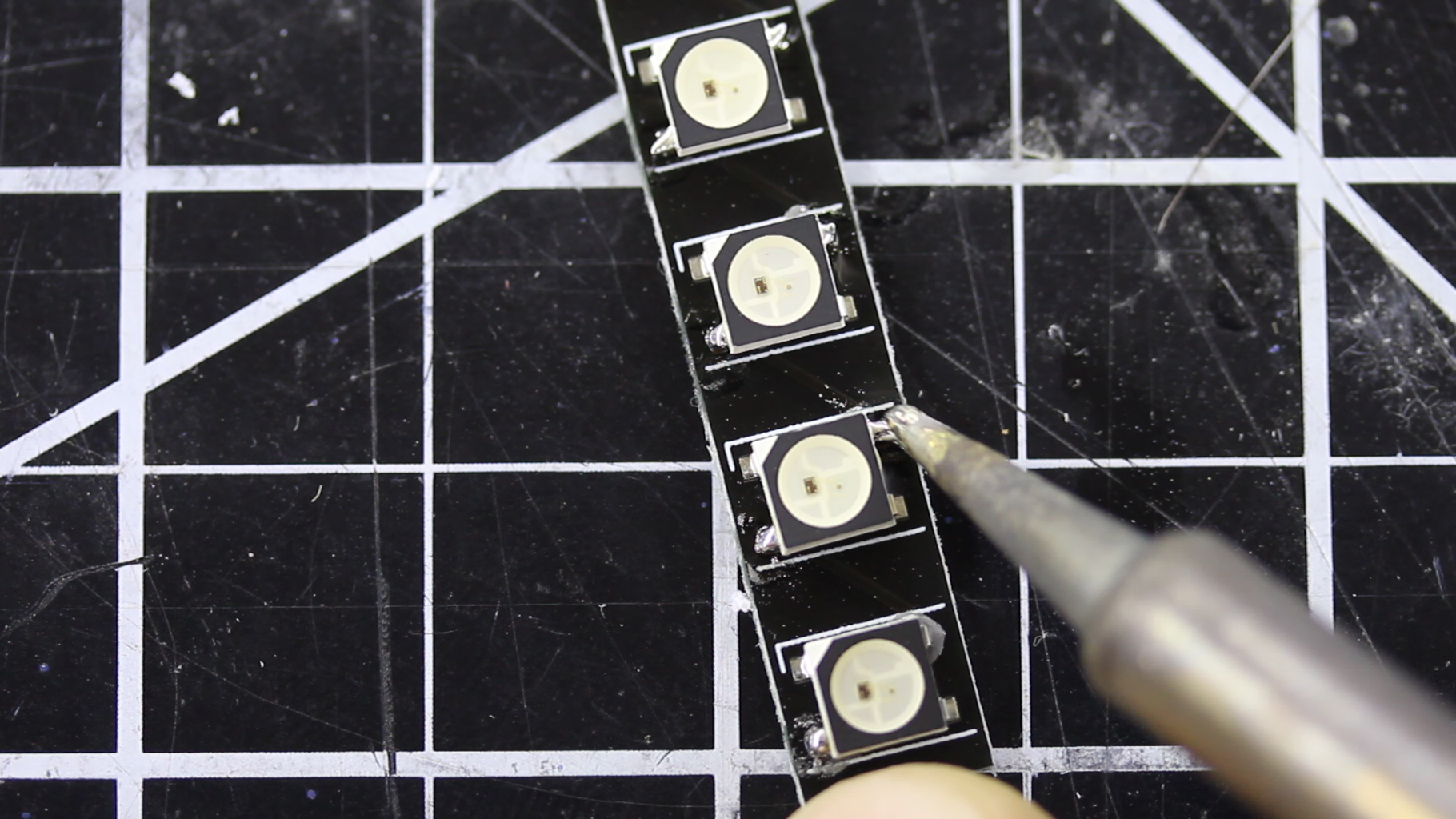 Large Surface Mount and Solder Paste