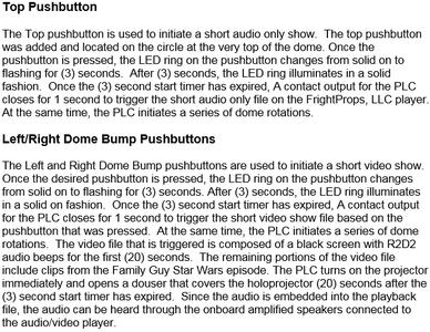 Pushbutton Operation