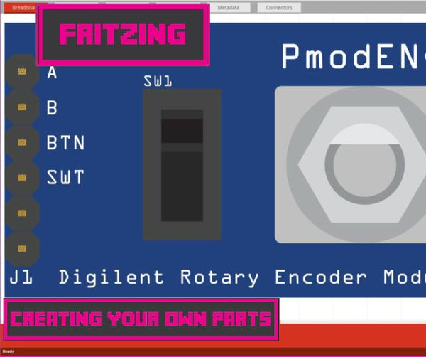 Fritzing - Creating Your Own Parts
