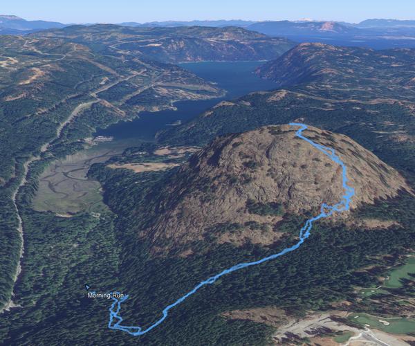 Plot a Hike on Google Earth