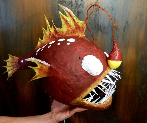 垂钓者鱼皮塔和愚蠢的眼罩
