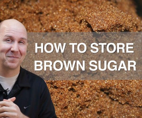 Brown Sugar Storage Science