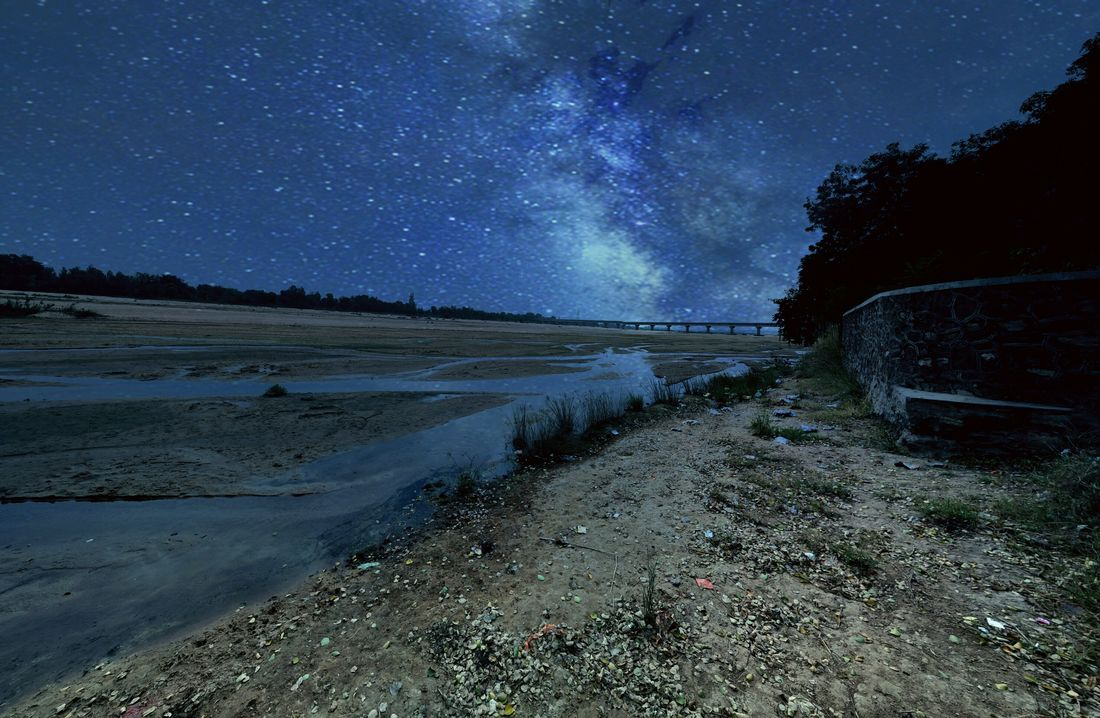 Smartphone Milkyway Photography