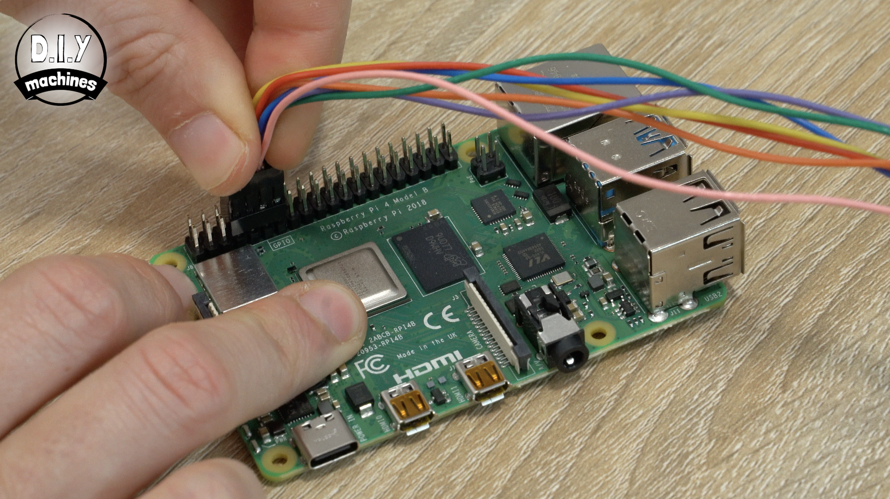 Connecting Our Main Cable to the Raspberry Pi