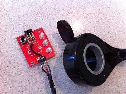 Speed Controller, Servo Tester Modification, Thumb Throttle