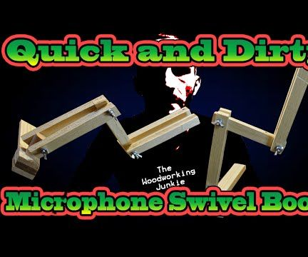 DIY Microphone Suspension Arm