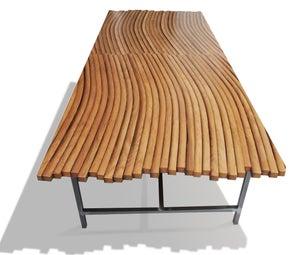 Oak Wine Barrel Coffee Table