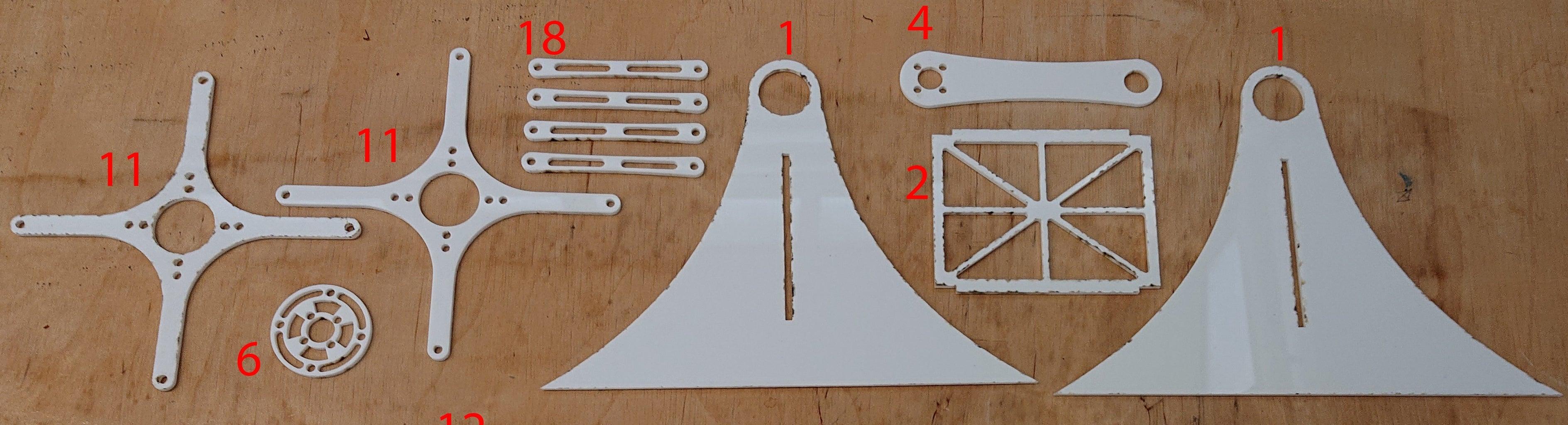 Materials 3mm Laser Cutting