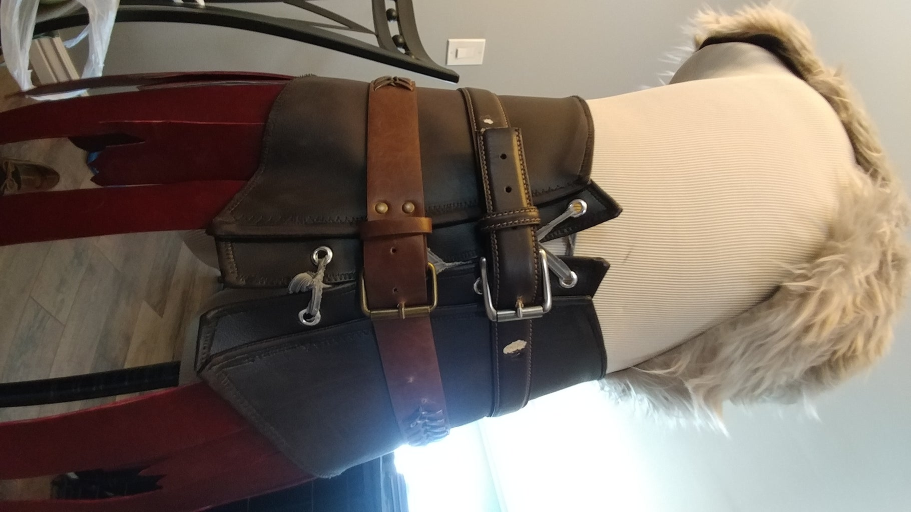 Skirt, Belts and Pouch