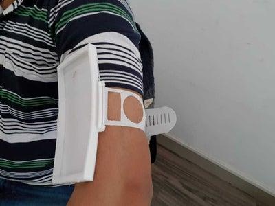 Samsung S8 Armband 3D Printed TPU